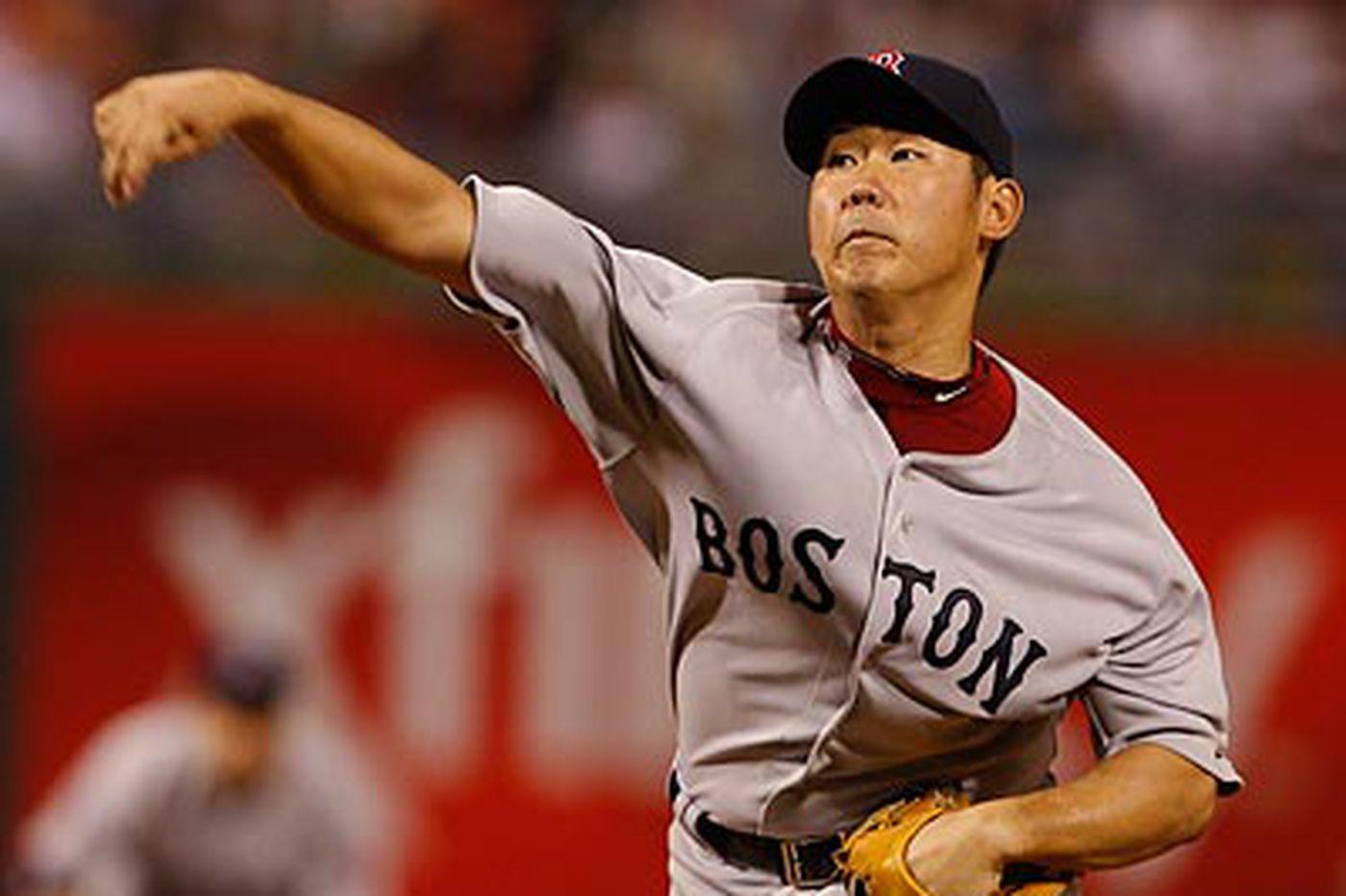 Phils fall to Boston, 5-0, but foil Matsuzaka's no-hit bid