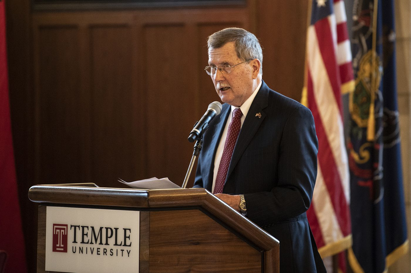 Temple University launches search for new president: Englert to leave after 45 years in 17 roles