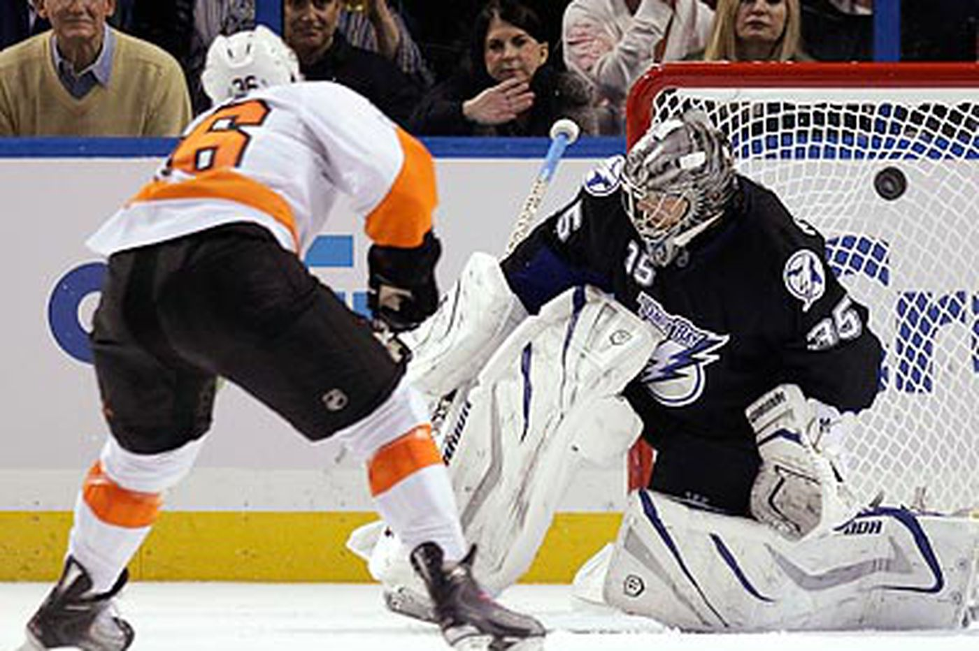 Flyers beat Lightning in shoot-out