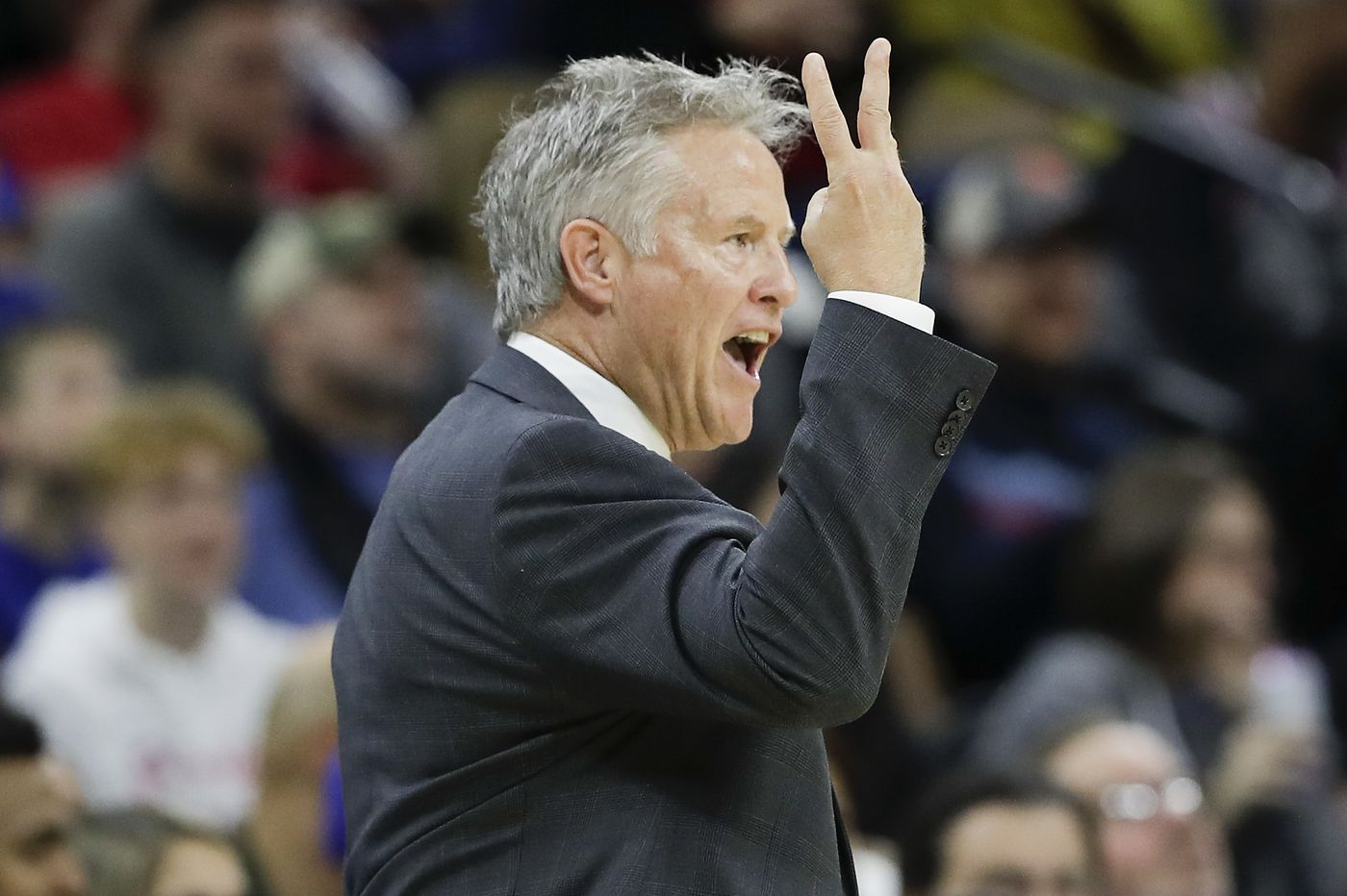 Sixers notes: Brett Brown hopes to be coaching in the NBA a long time