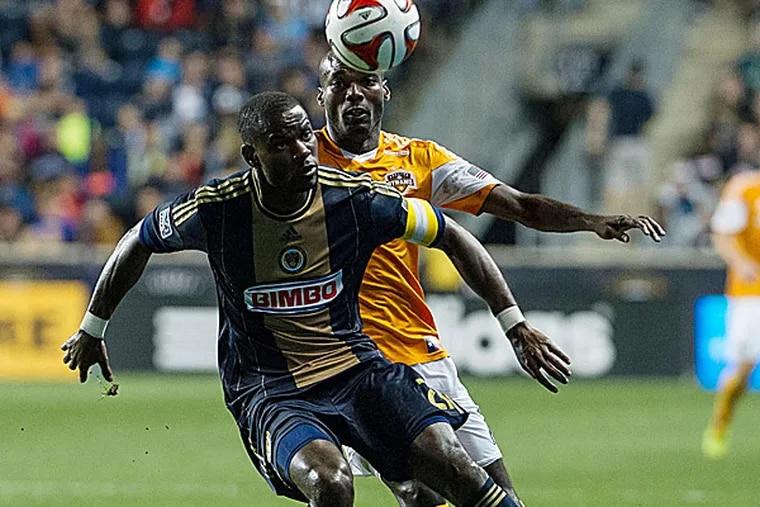 Union midfielder Maurice Edu. (John Geliebter/USA Today Sports)