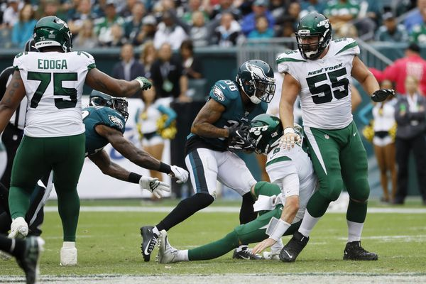 Corey Clement thought Jets punt hit Eagles' Ryan Lewis; Lewis wasn't sure, but the result was a turnover