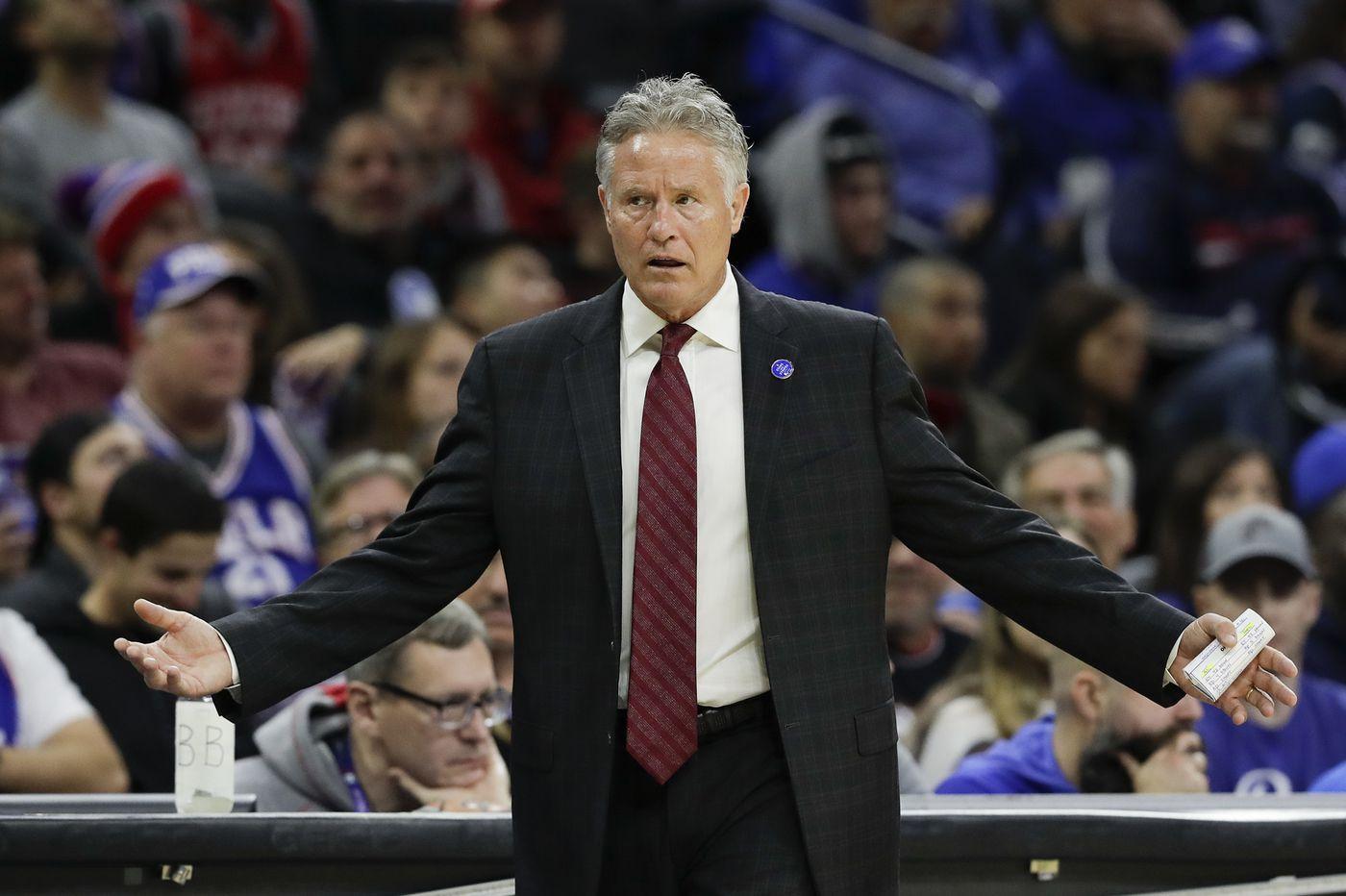 Sixers coach Brett Brown fears the San Antonio Spurs despite their struggles