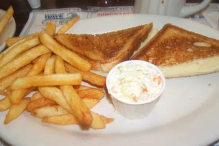A grilled cheese sandwich is one of many dishes youngsters can enjoy.