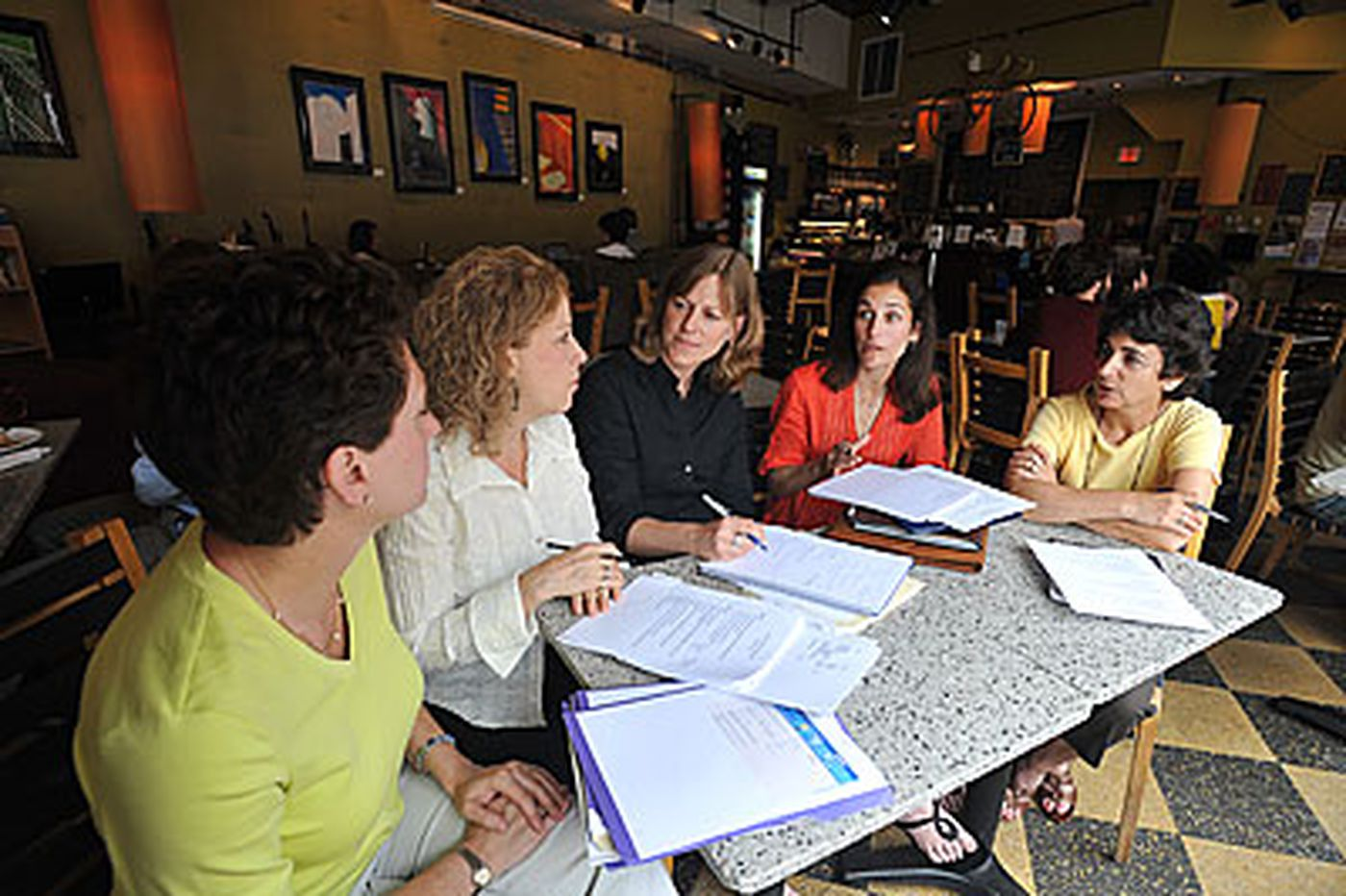 To have an impact, women pool funds