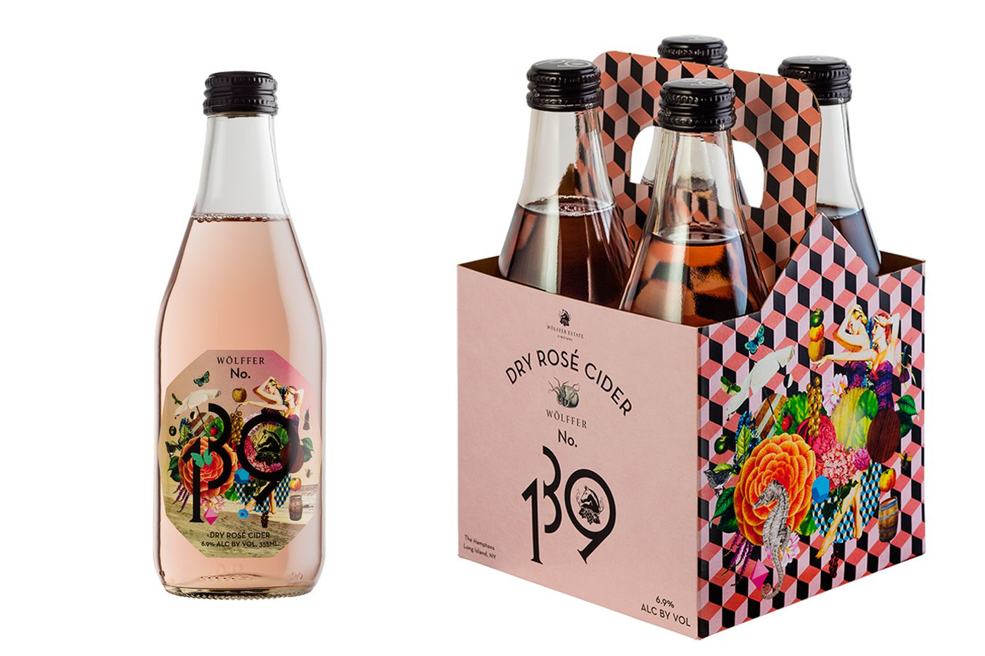 Rose cider as a transition from summer to fall