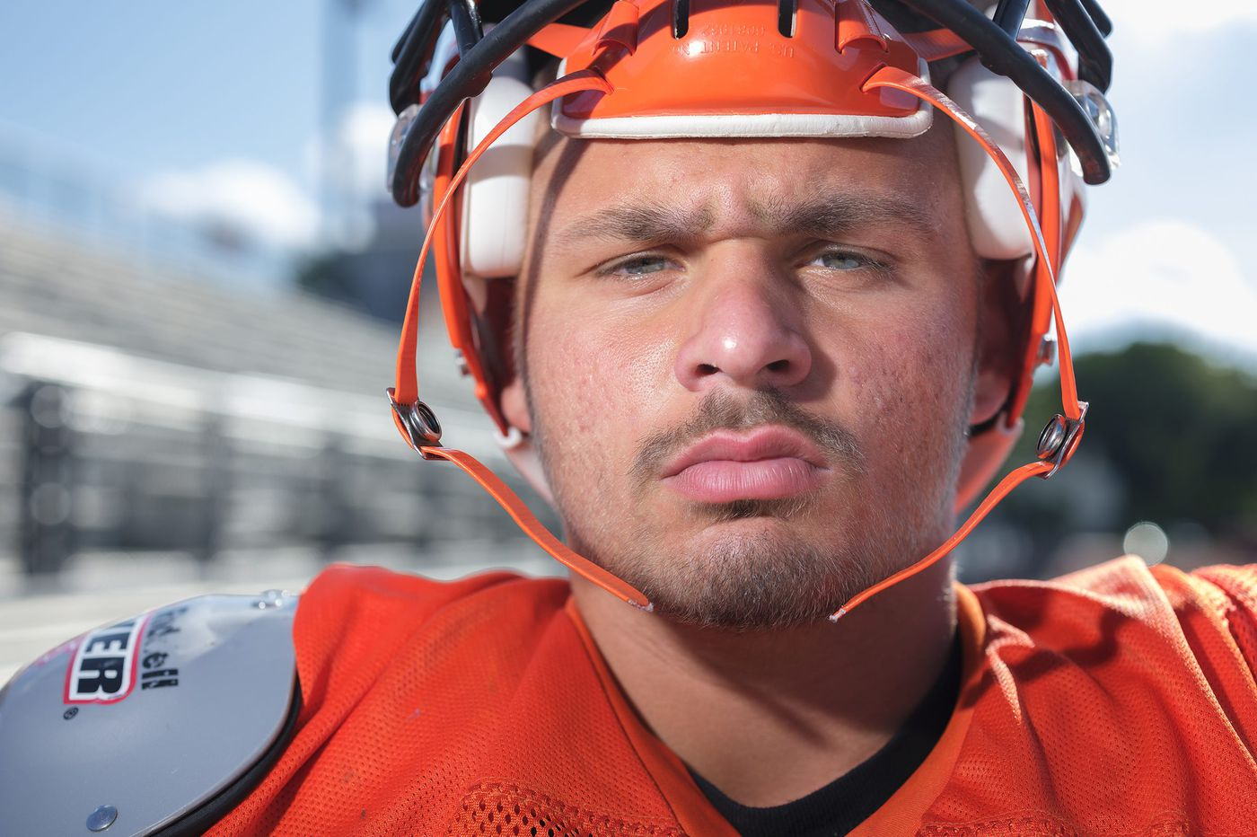 Marple Newtown's Sal Tartaglia is a battler on and off the football field