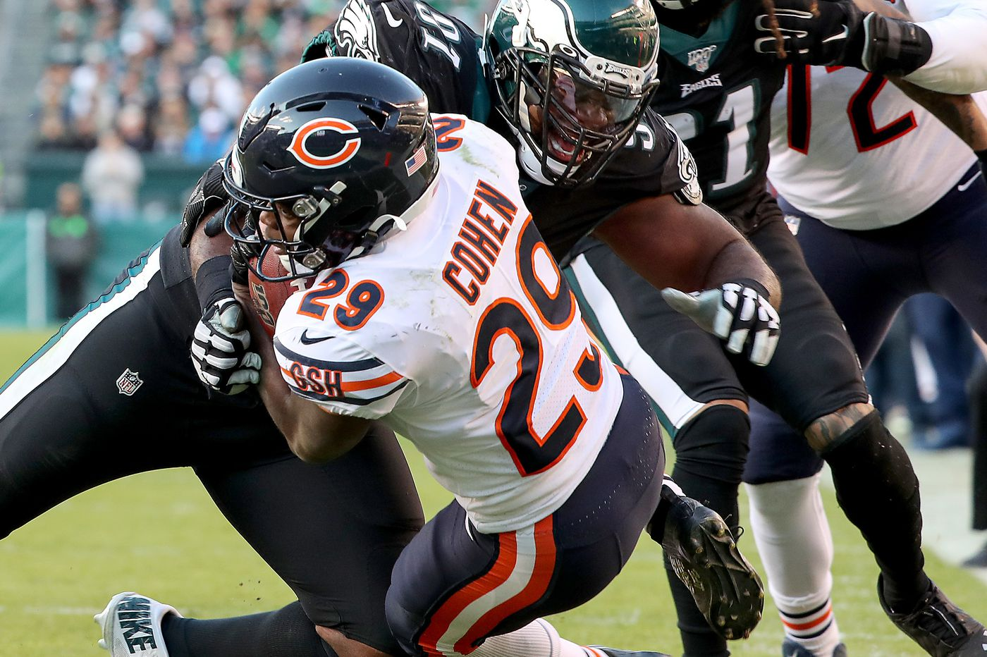 Fletcher Cox, Eagles' best player, leads way vs. Bears in Birds' second consecutive win | Marcus Hayes