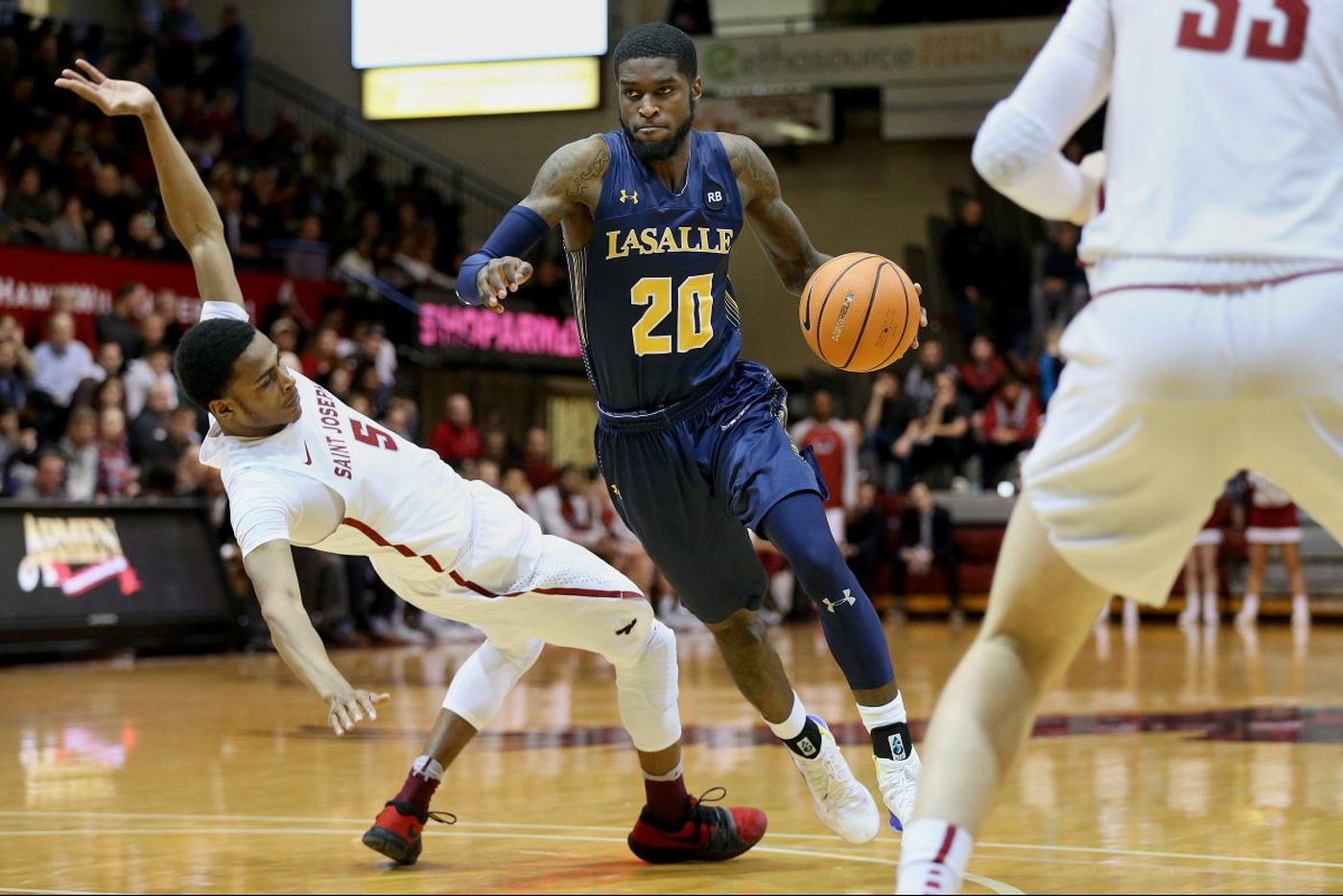 Rhode Island favored, but La Salle believes anything can happen in the Atlantic Ten tournament