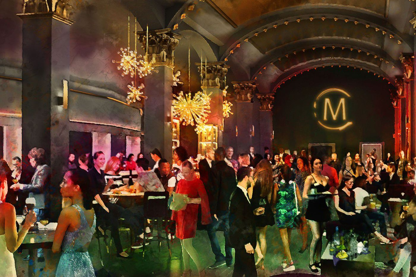 The Met Philadelphia Grande Salle: Here's what to expect at the new 'upscale lounge' opening at the North Broad venue