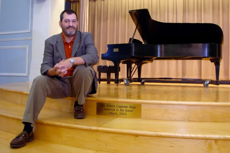 Robert Capanna, at the Settlement Music School