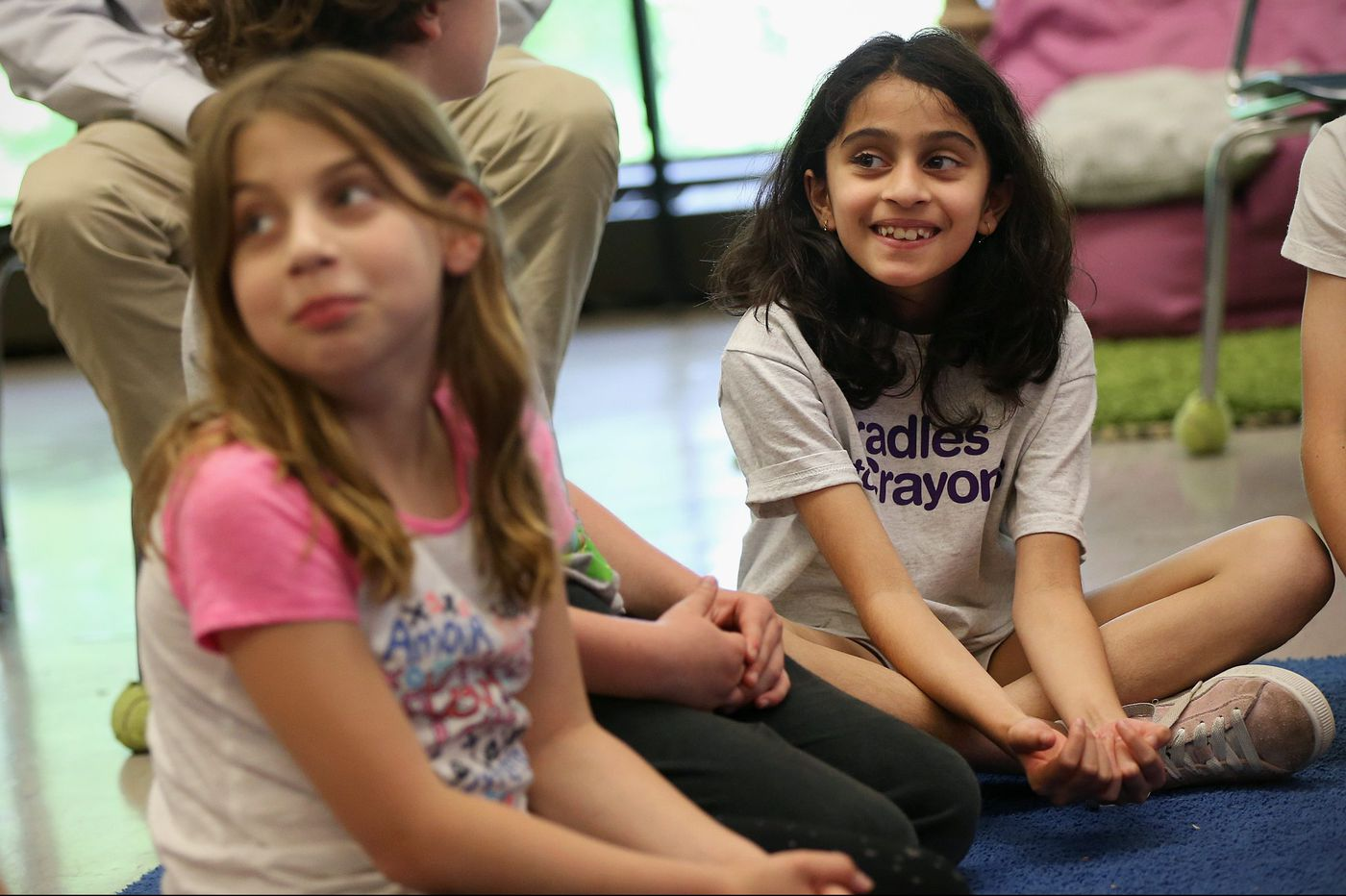 Students use 'feedback' to build community, solve problems