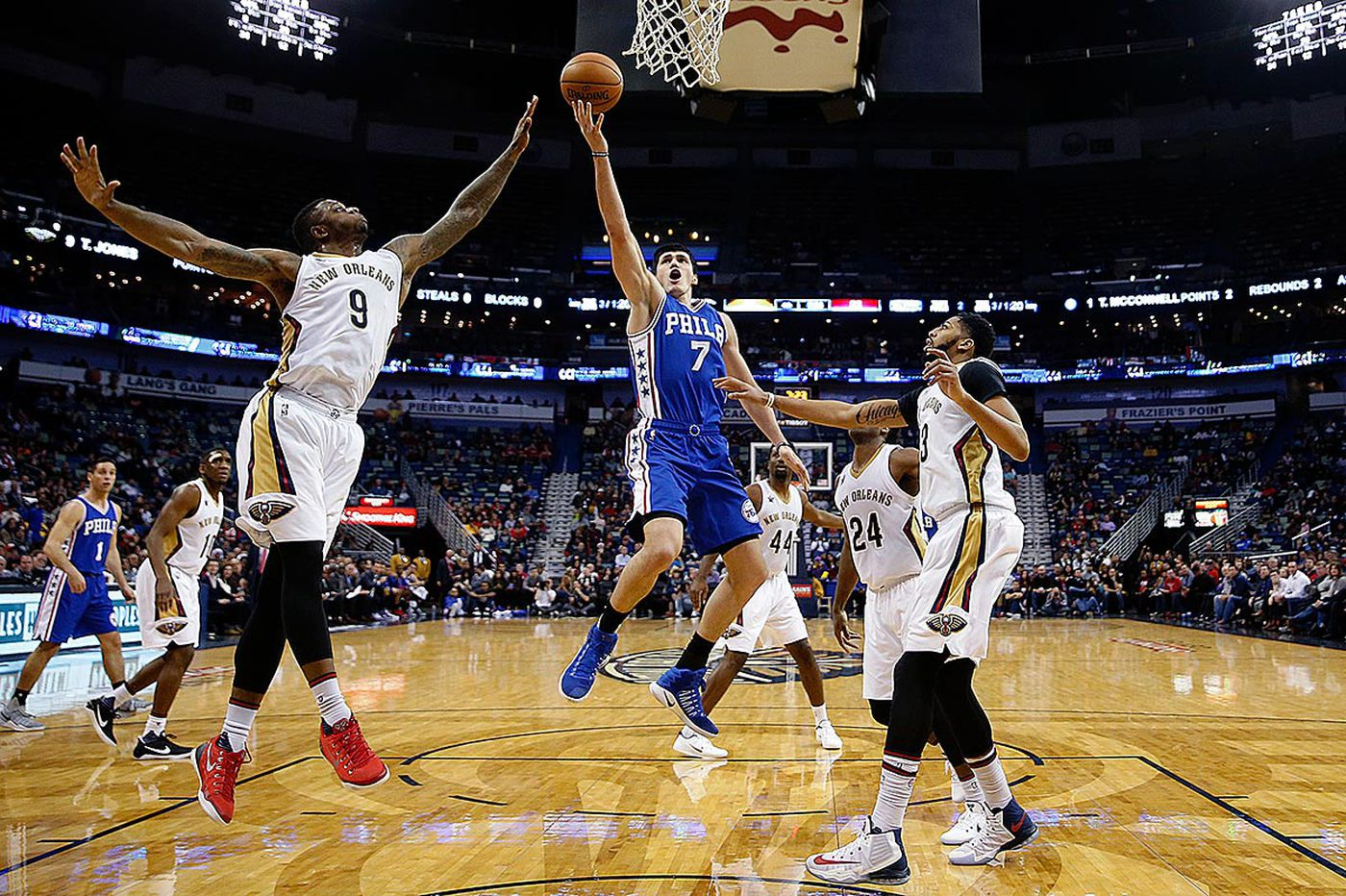 Cooney: Sixers snap road losing streak with win at New Orleans