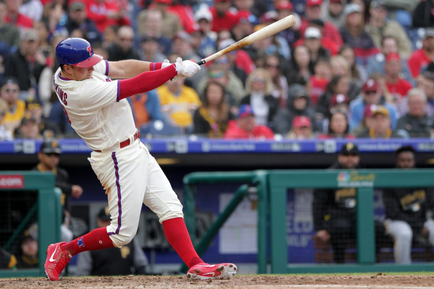 Phillies pass a test by winning series against Pirates