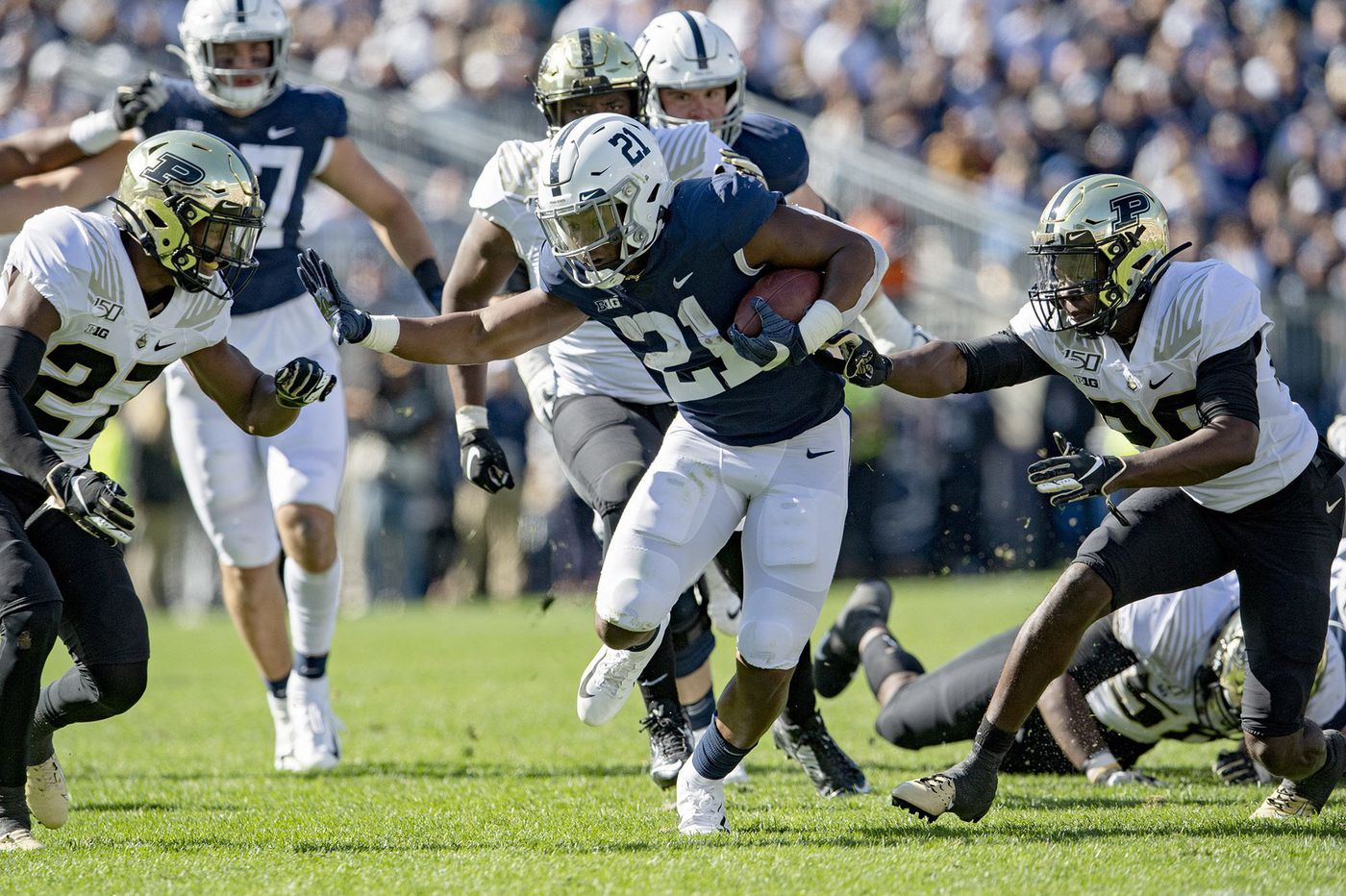 A more diversified rushing attack enhances the Penn State offense