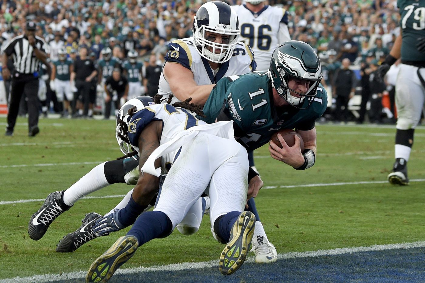 Eagles Carson Wentz Gets Another Chance To Stay Healthy He S Running Out Of Them Bob Ford