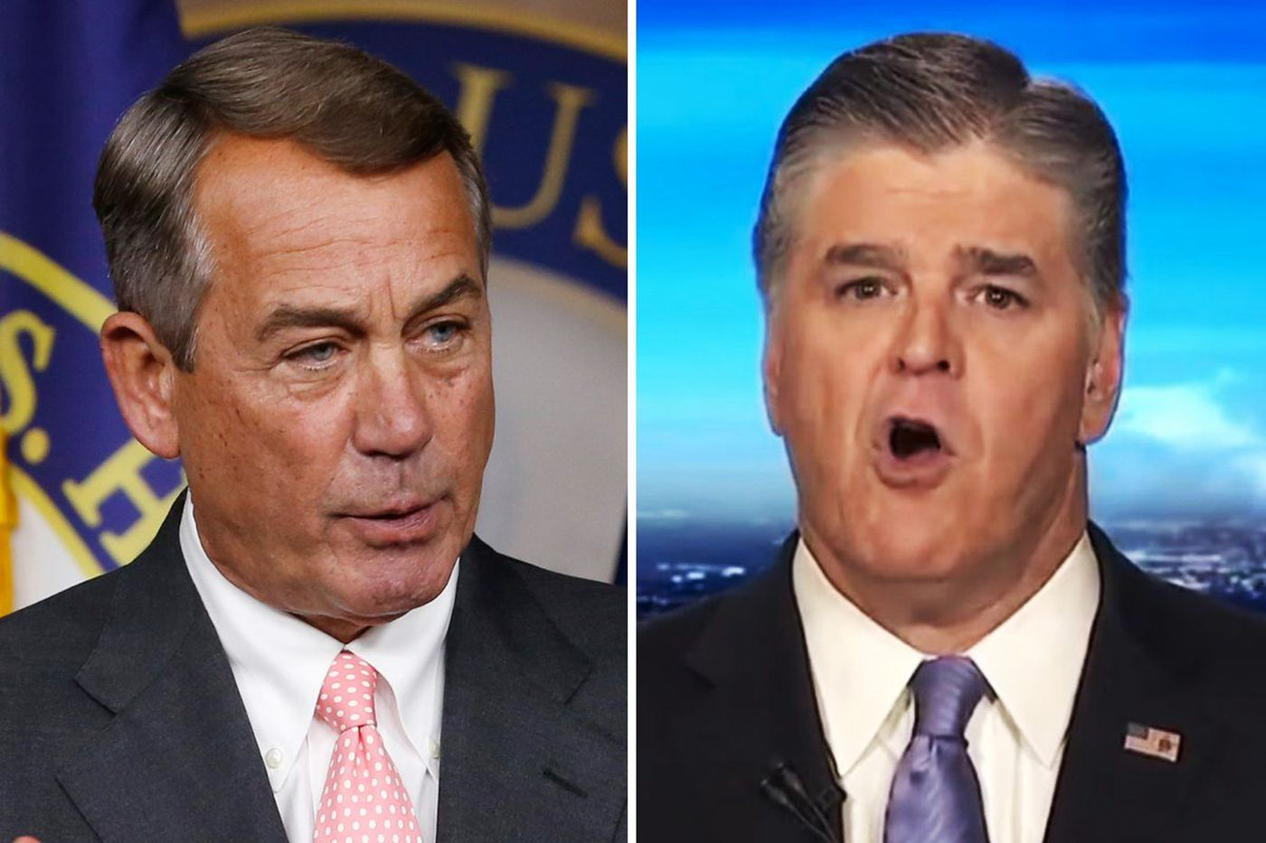 Former top Republican John Boehner unloads on 'idiot' Sean Hannity