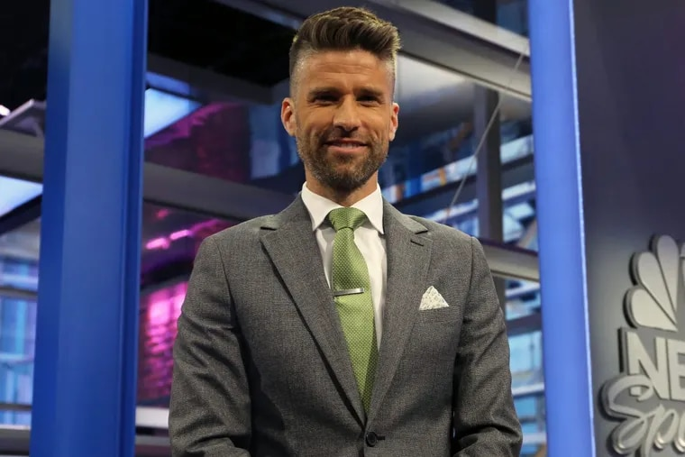 Kyle Martino has been a television studio analyst on NBC Sports' English Premier League coverage in recent years. He is now a candidate in the U.S. Soccer Federation presidential election.