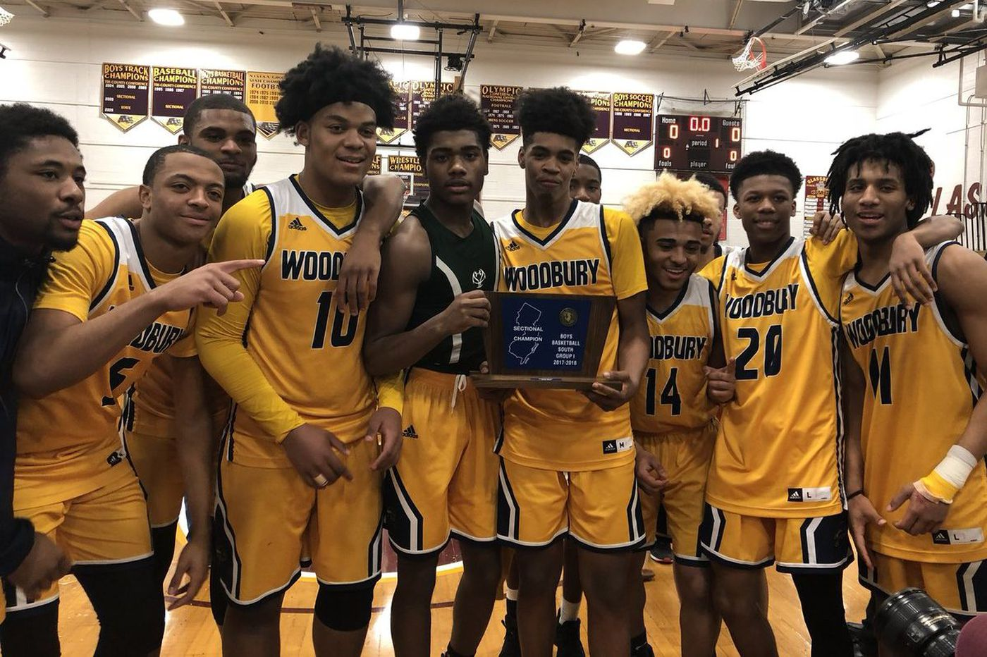 Tuesday's S.J. roundup: Woodbury boys repeat as South Group 1 champions