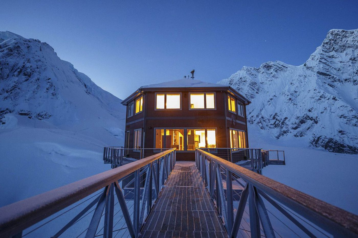 Sheldon Chalet is Denali National Park's first - and last - luxury hotel