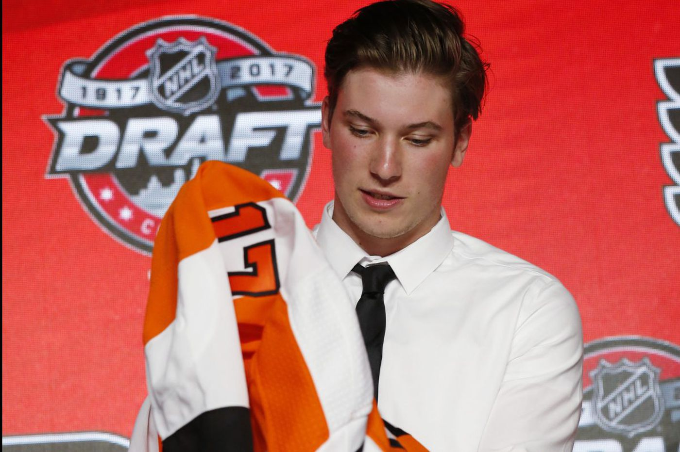 Nolan Patrick scratched from Flyers practice debut because of infection