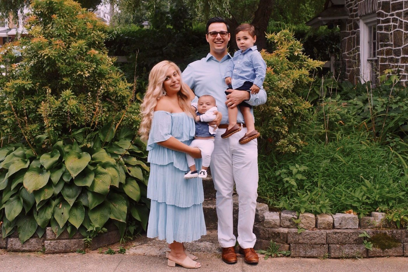 The Parent Trip: Justine and Philip Dawson of West Mount Airy