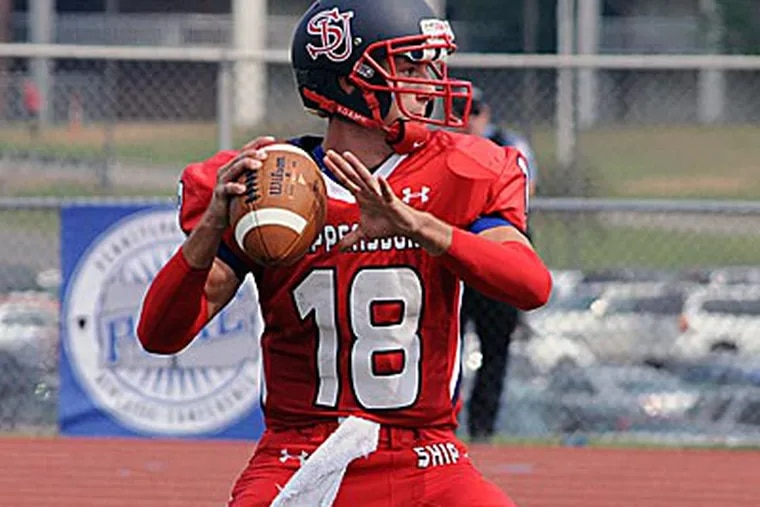 Shippensburg quarterback Zach Zulli is one of the top players in Division II. (Handout photo)
