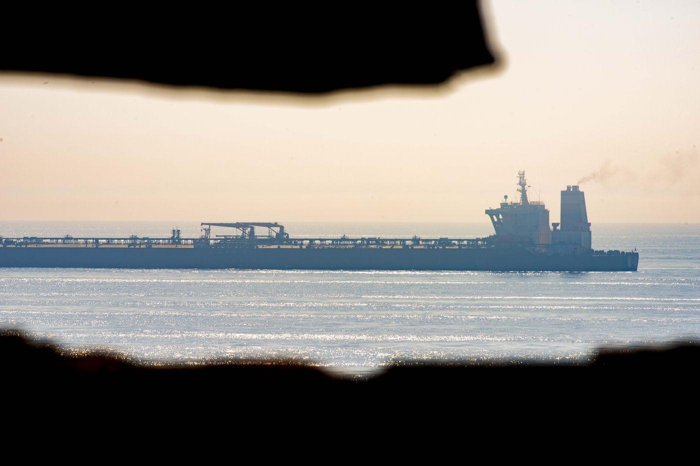 Iranian tanker to leave Gibraltar soon despite U.S. pressure