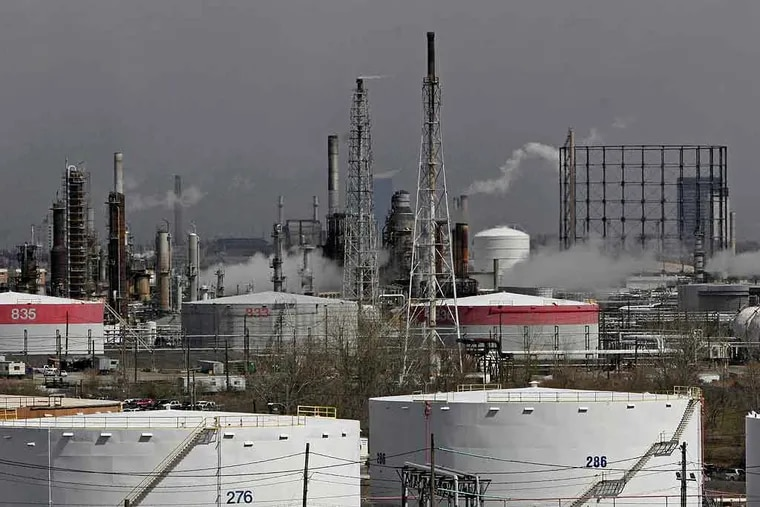 The Philadelphia Energy Solutions refinery in South Philadelphia. The fate of the bankrupt Philadelphia Energy Solutions refinery complex, shut down since a catastrophic June fire and explosion, hung in the balance on Friday.