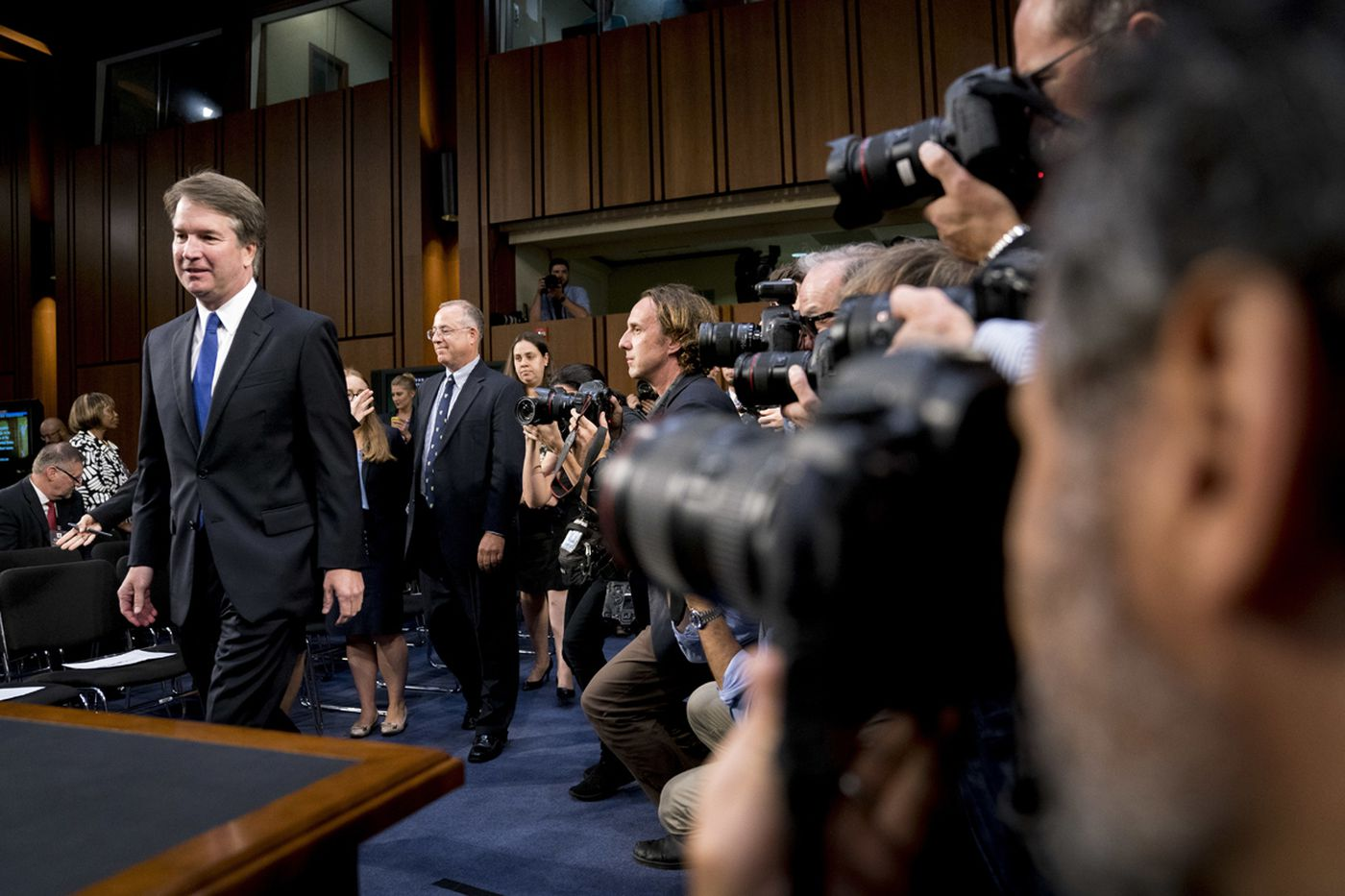 What time will Brett Kavanaugh hearing start (and end) today?