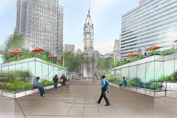 Clarke's vision: 7 restaurants in LOVE Park