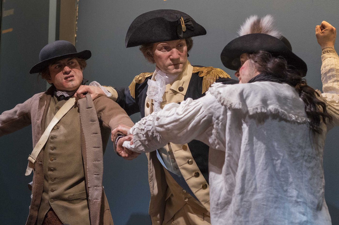 Museum of the American Revolution: Shockingly realistic statues bring the Revolution to life