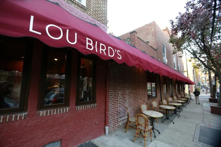 Lou Bird's, at 20th and Lombard Streets.