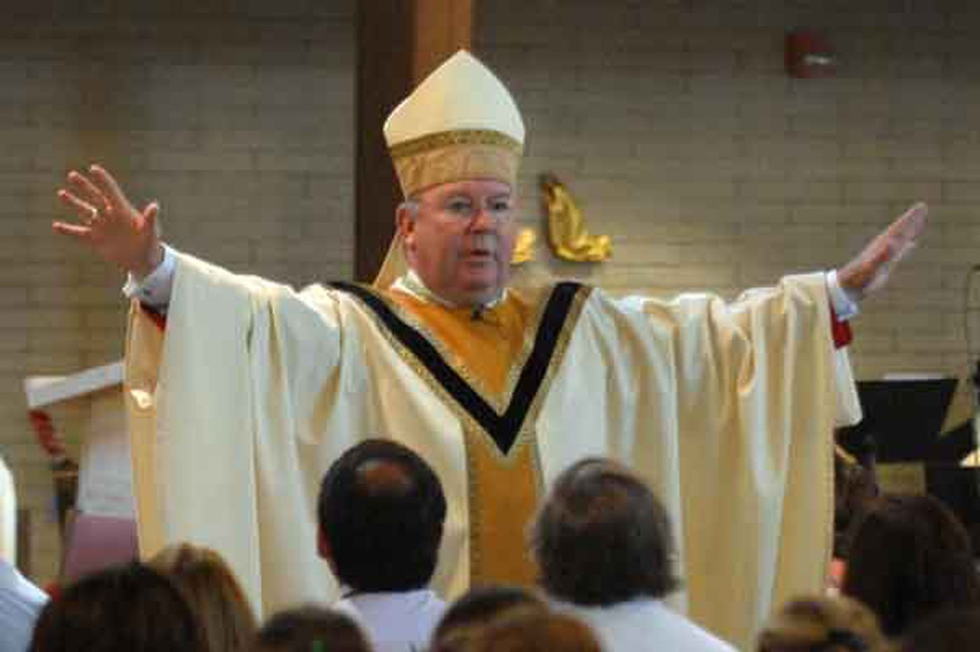 Bishop J.P. McFadden; led Harrisburg Diocese