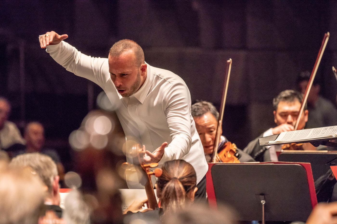 Philadelphia Orchestra's first day in Israel: 'Want to hear more?' asks Yannick