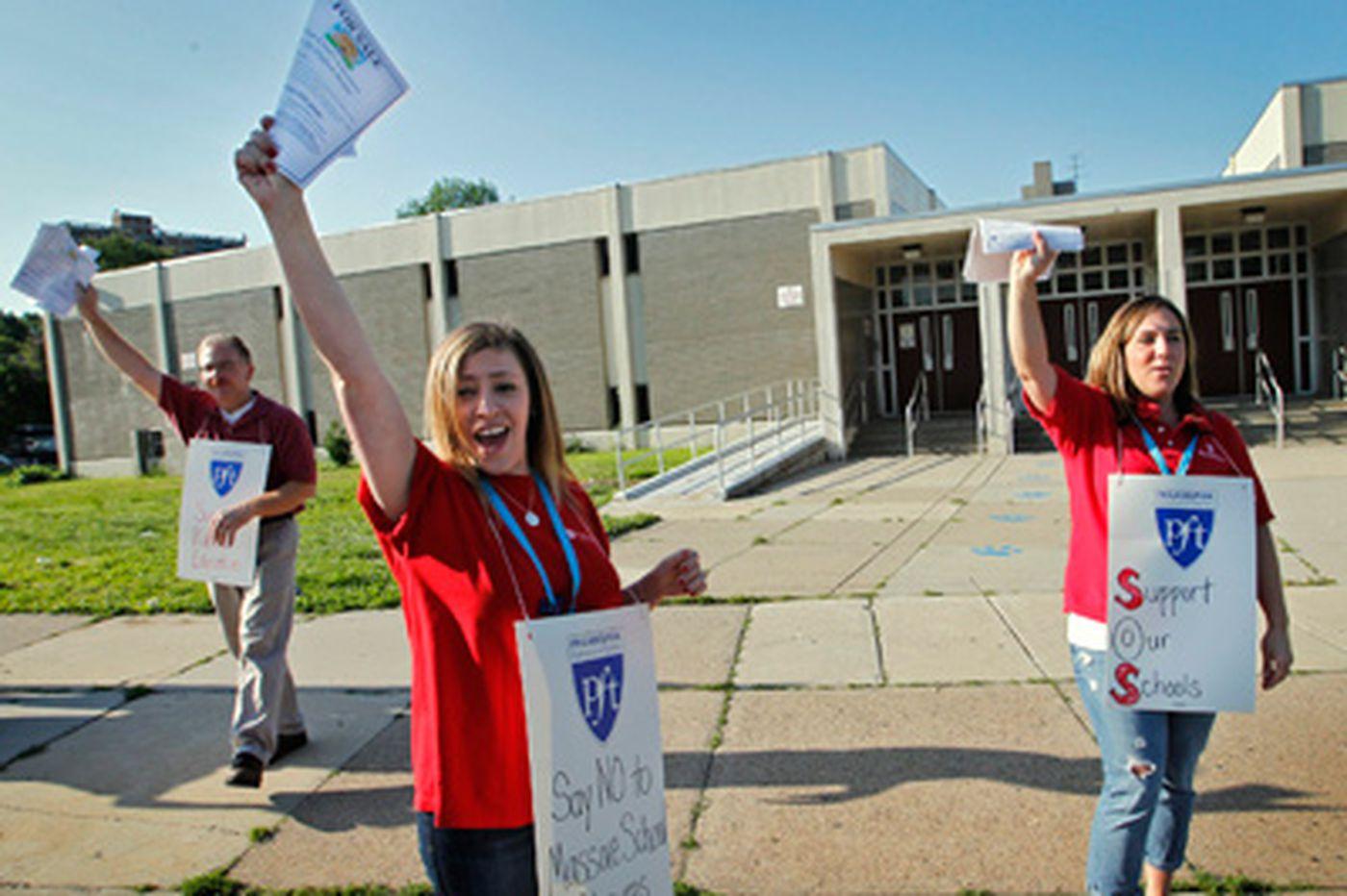 Teachers want a say in Philadelphia School District plans