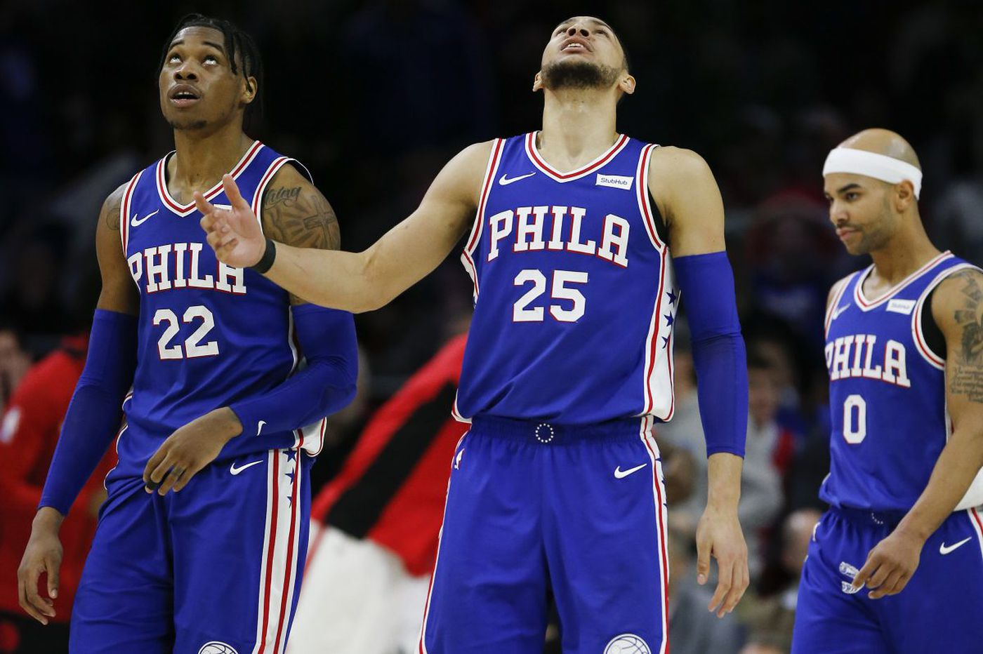 Sixers blow 22-point lead in 114-109 loss to Raptors