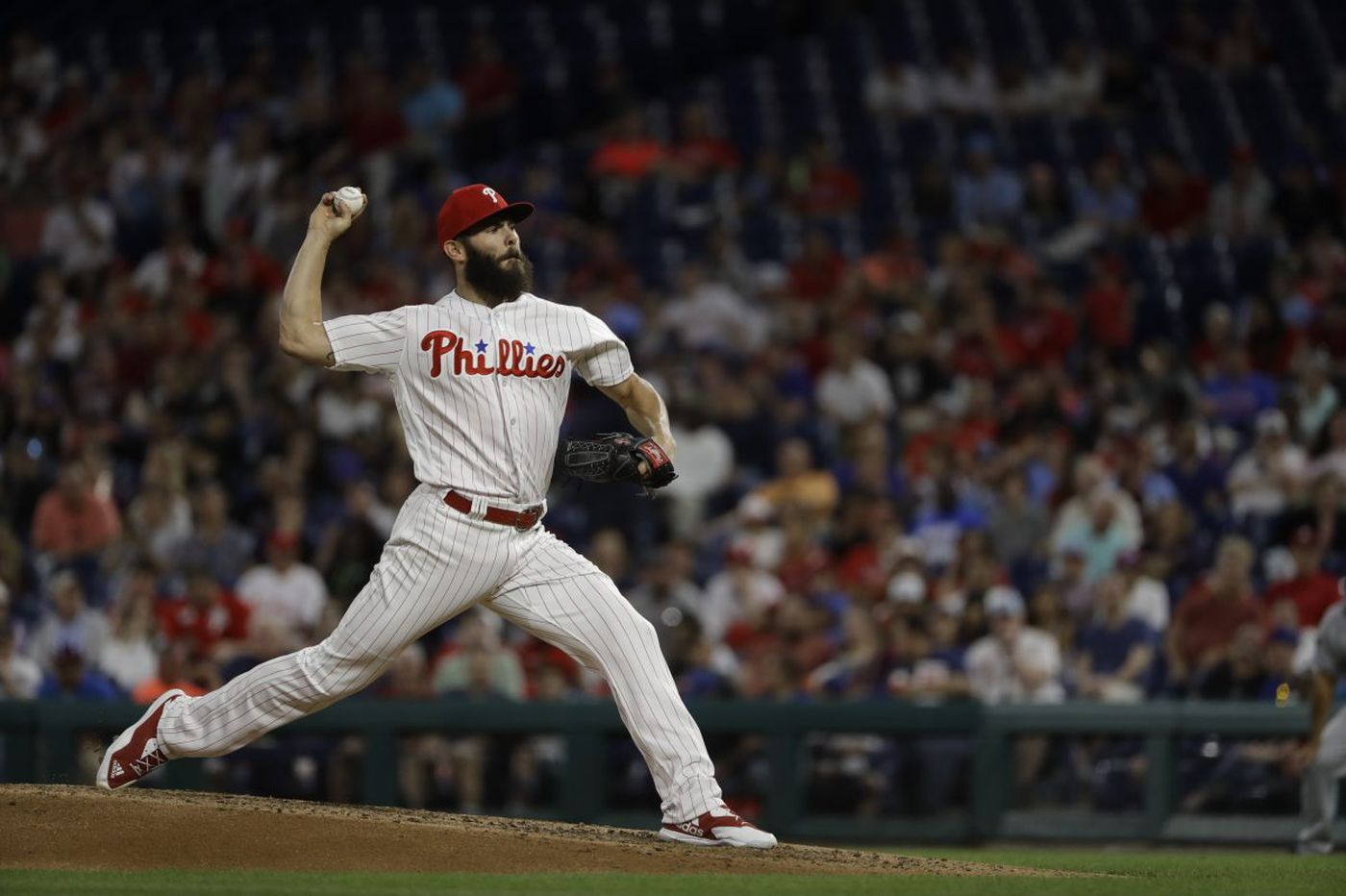 Phillies' Jake Arrieta chased by Cardinals in loss, but Odubel Herrera's streak is alive