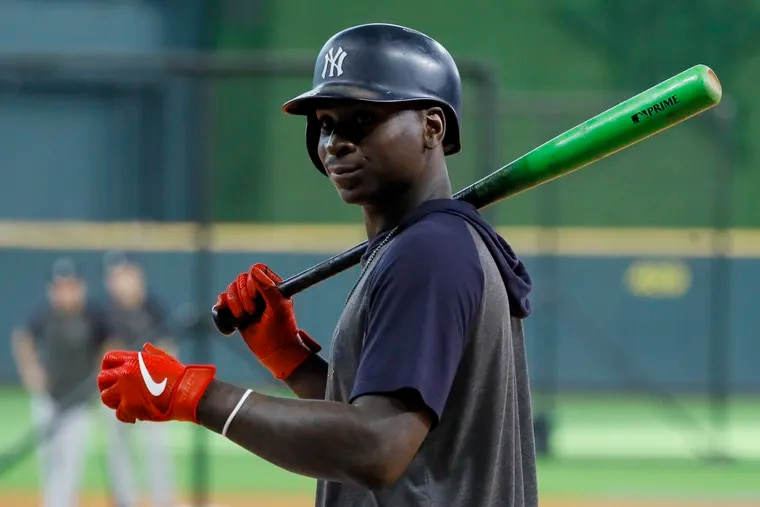 Shortstop Didi Gregorius is joining manager Joe Girardi with the Phillies.