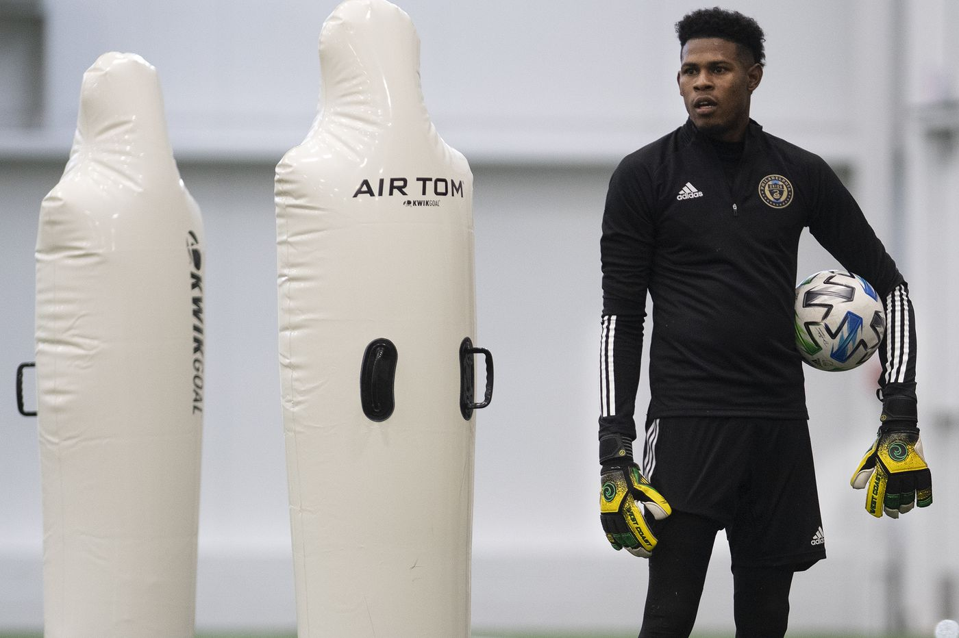 Union goalkeeper Andre Blake should be better this year, because defense will be better