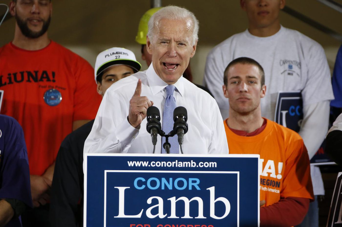 Trump, Biden clash as Democrats hope ex-VP can win back working-class voters, maybe White House