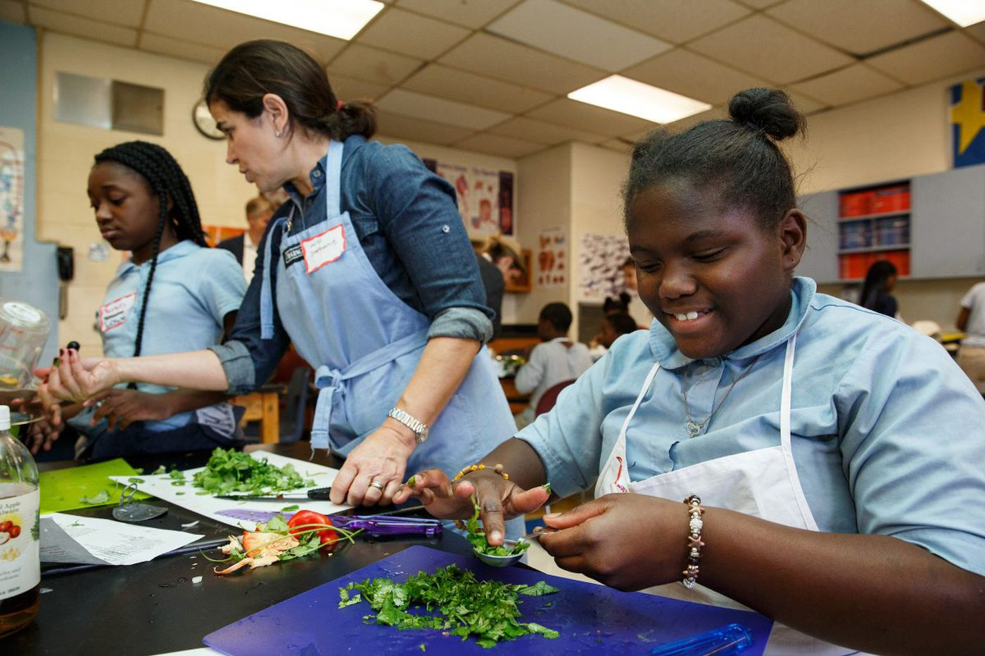 Vetri Cooking Lab gets kids in the kitchen