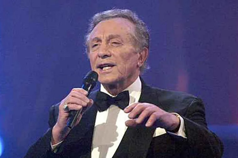 Singer Al Martino, a South Philly native, has died. (AP File Photo/Winfried Rothermel)