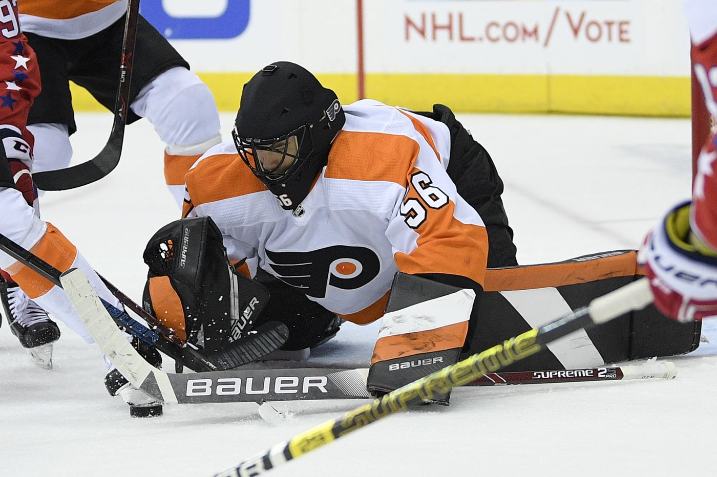 Unlucky No. 7: A quick look at the Flyers and the other teams that have gone through seven goalies