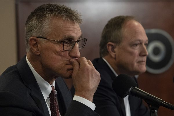 Flyers' Paul Holmgren, Dave Scott say Ron Hextall left team 'in a really good spot' but it 'was time to move on'