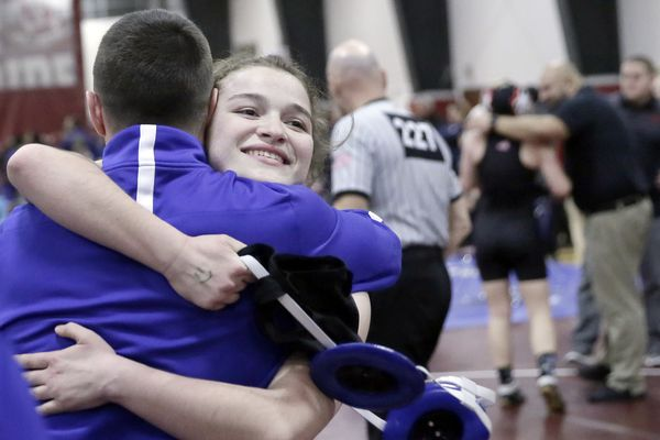 Williamstown's Paige Colucci wins title at first-ever girls' wrestling regional tournament