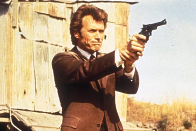"""Clint Eastwood is Dirty Harry and a slew of other characters in """"35 films, 35 years at Warner Bros., a set that celebrates the actor's' career."""