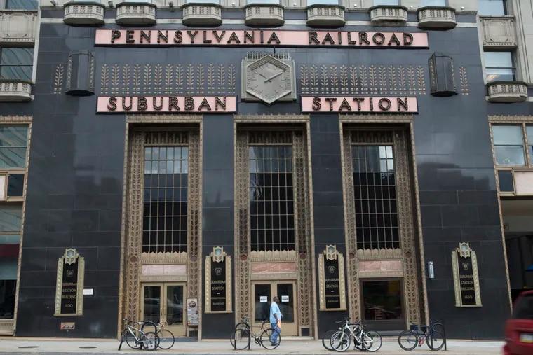 Exterior of Philadelphia's Suburban Station in Center City.