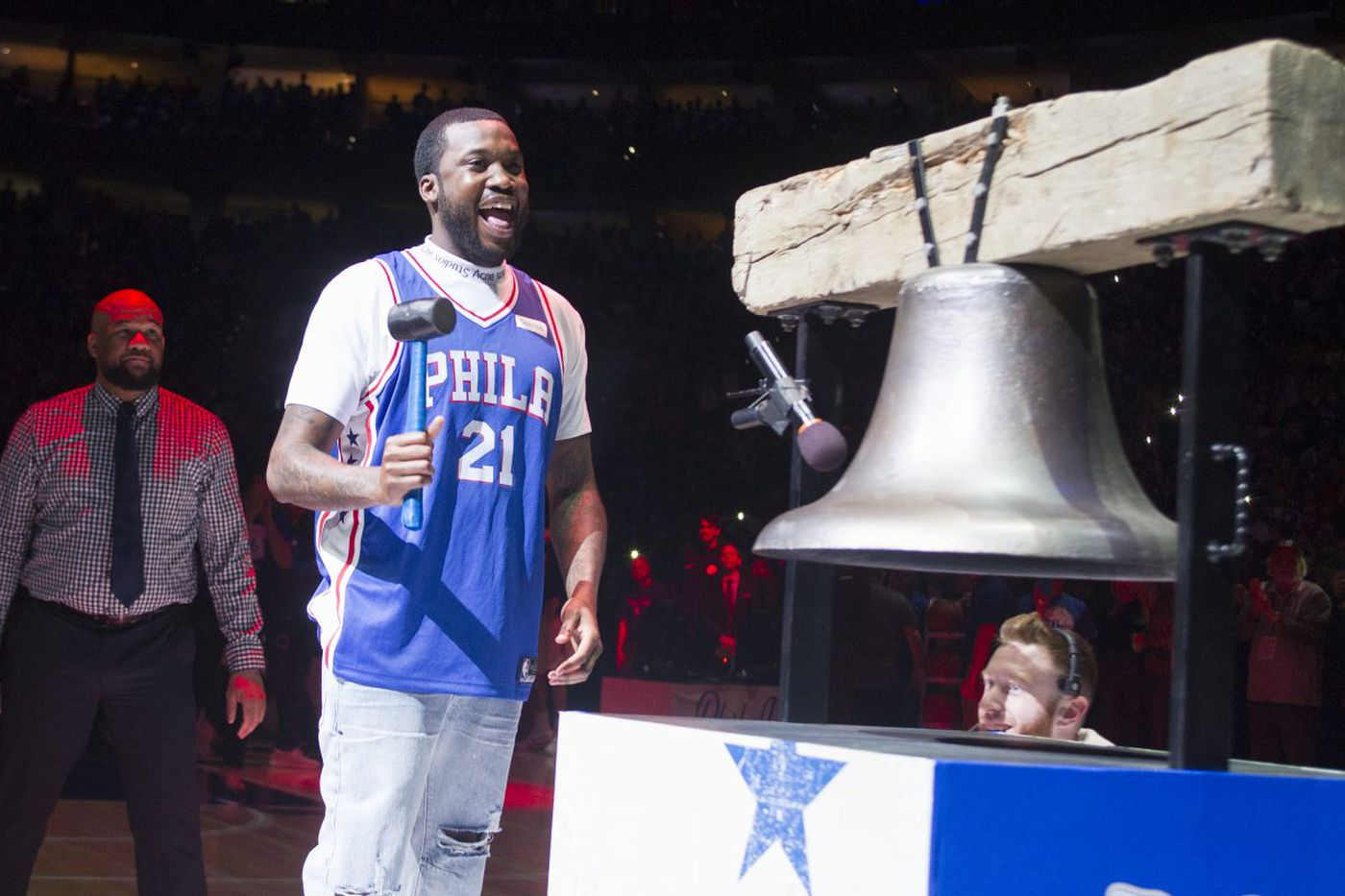 Glorifying Meek Mill is not a good look for the Sixers   Christine Flowers