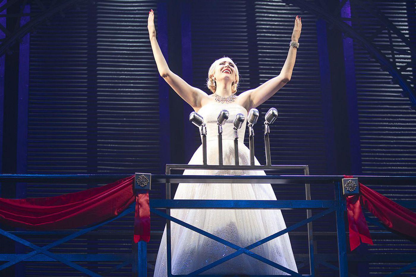 'Evita' at Pennsylvania Shakespeare: Superbly sung, visually gorgeous, tender
